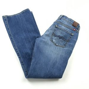 Lucky Brand Sweet N' Low Boot Cut Mid Rise Jeans